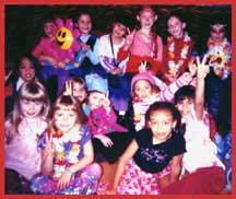 Go back to groovy 60's and 70's rock music for hippie dance entertainment for kids.  Peace, love and rock n roll!