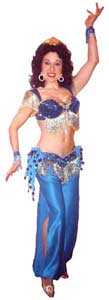 Daisy Doodle, aka Delilah, is a professional belly dancer and offers belly dancing shows and lesson for kids belly dance entertainment
