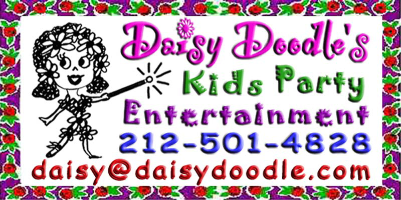 Logo Daisy Doodle's kids parties and childrens birthday party entertainment
