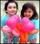 Balloon sculpting for childrens birthday party entertainment nyc