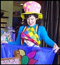 kids magician nyc childrens birthday party magic clown entertainment