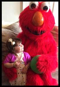Kids love having Elmo come to their birthday party in NYC